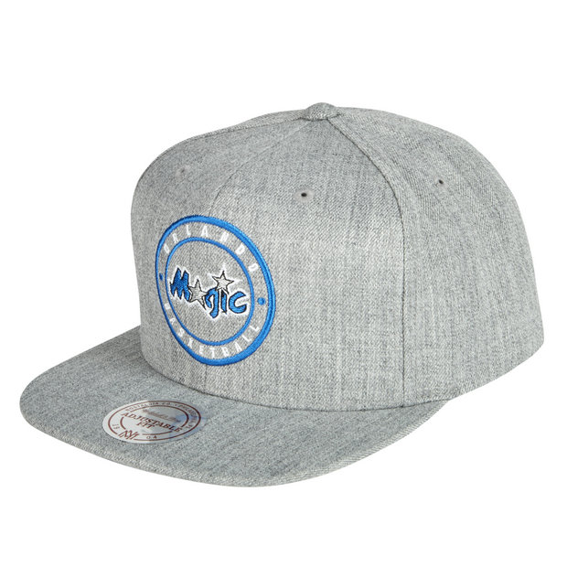 Gorra Orlando Magic Hardwood Classics Circle Patch Snapback Cap