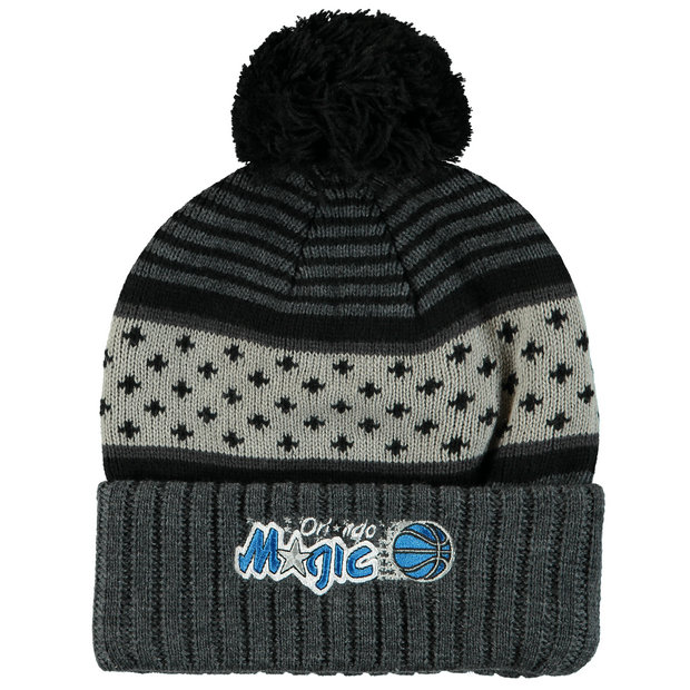 Gorra Orlando Magic Hardwood Classics Pom Knit