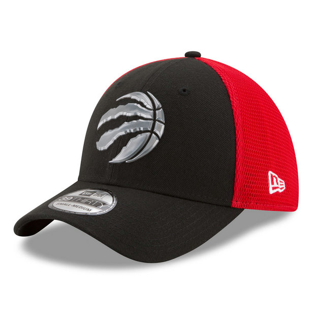 Gorra Toronto Raptors New Era 2017 Official On-Court 39THIRTY Stretch Fit Cap