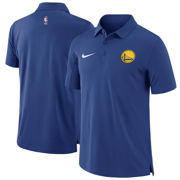 Hombre Golden State Warriors Azul Core Performance Polo