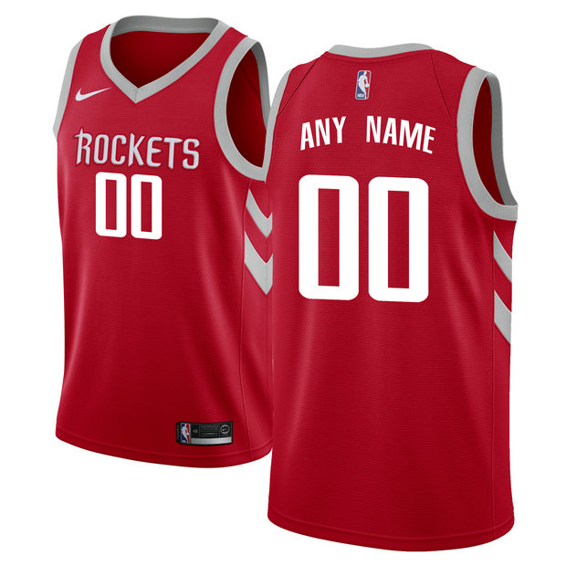 Hombre Houston Rockets Rojo Swingman Camiseta Personalizada