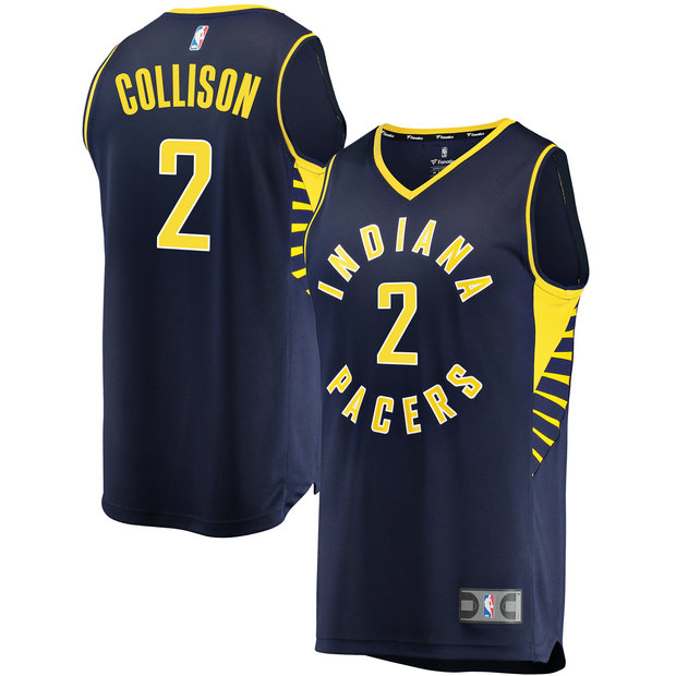 Hombre Indiana Pacers Darren Collison Fanatics Branded Armada Fast Break Player Camiseta