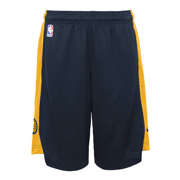 Indiana Pacers Nike Practise Pantalones cortos - College Navy/Amarillo - Adolescentes