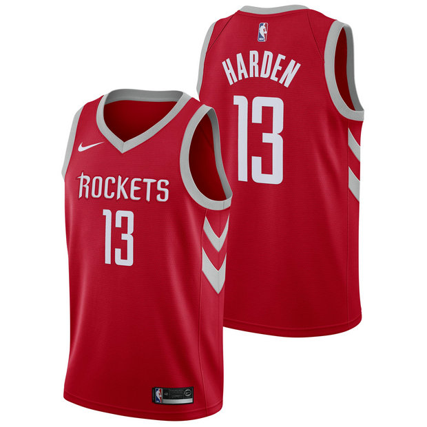 James Harden #13 - Hombre Houston Rockets Nike Icon Swingman Camiseta de la NBA