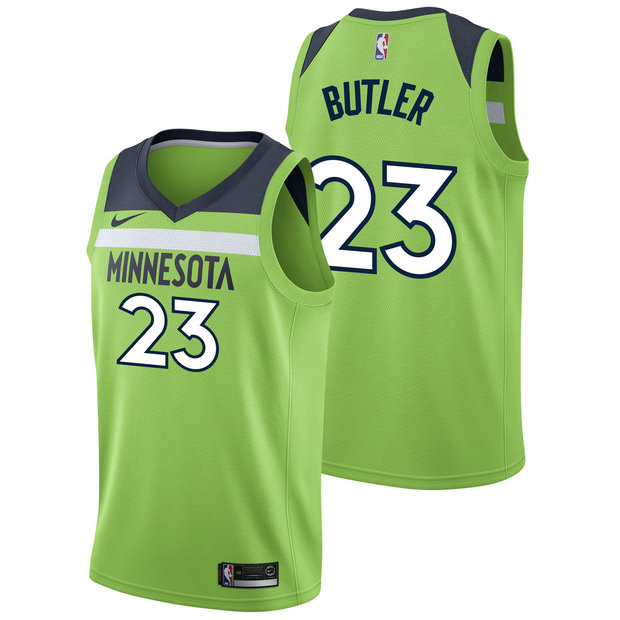 Jimmy Butler - Hombre Minnesota Timberwolves Nike Statement Swingman Camiseta de la NBA