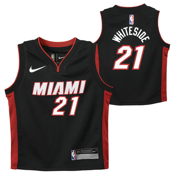 Miami Heat Nike Icon Replica Camiseta de la NBA - Hassan Blancoside - Niño