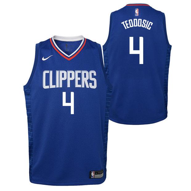 88cf4739bf81a Milos Teodosic - Adolescentes Los Angeles Clippers Nike Icon Swingman  Camiseta de la NBA Ventas Baratas