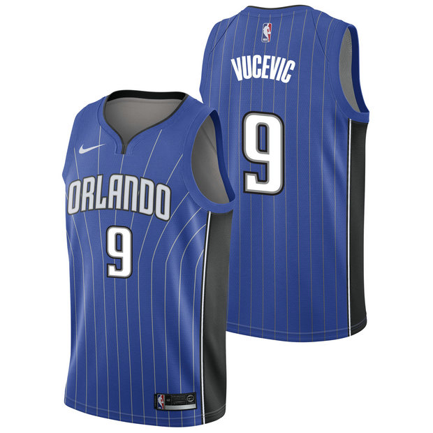 Nikola Vucevic - Hombre Orlando Magic Nike Icon Swingman Camiseta de la NBA