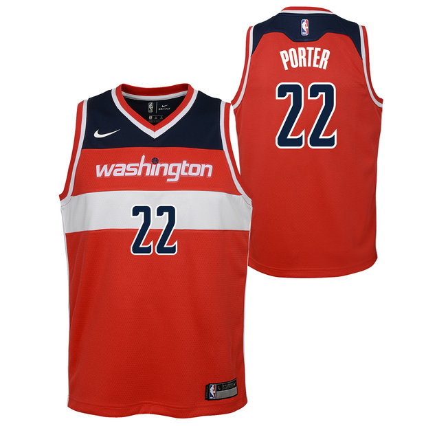 Otto Porter Jnr - Adolescentes Washington Wizards Nike Icon Swingman Camiseta de la NBA