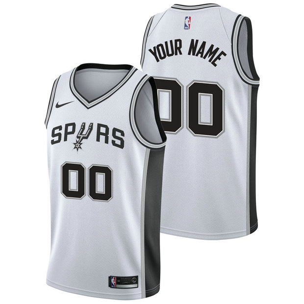 San Antonio Spurs Nike Association Swingman Camiseta de la NBA - Personalizada - Hombre