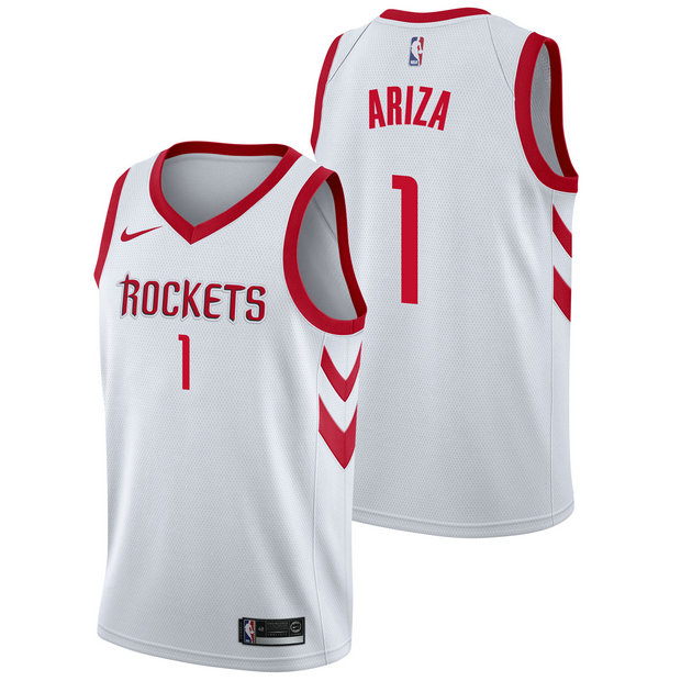 Trevor Ariza - Hombre Houston Rockets Nike Association Swingman Camiseta de la NBA