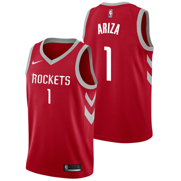 Trevor Ariza - Hombre Houston Rockets Nike Icon Swingman Camiseta de la NBA