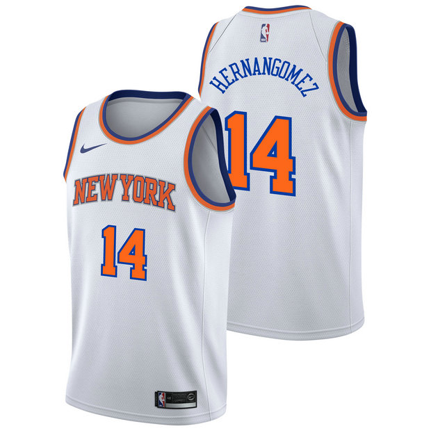 Willie Hernangomez - Hombre New York Knicks Nike Association Swingman Camiseta de la NBA