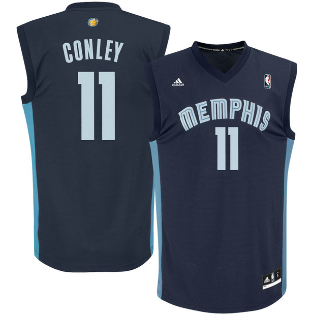 Youth Memphis Grizzlies Mike Conley Armada Azul Road Camiseta