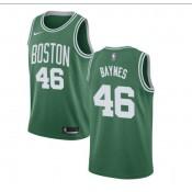 Aron Baynes #46 Boston Celtics Verde Swingman Camiseta Barcelona