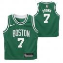 Compra Boston Celtics Nike Icon Replica Camiseta de la NBA - Jaylen Brown - Niño a Precios Bajos