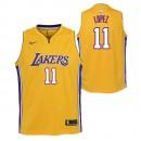 Brook Lopez - Adolescentes Los Angeles Lakers Nike Association Swingman Camiseta de la NBA Madrid Tienda