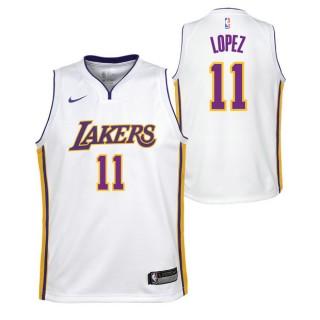 Brook Lopez - Adolescentes Los Angeles Lakers Nike Icon Swingman Camiseta de la NBA Barcelona