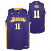 Brook Lopez - Adolescentes Los Angeles Lakers Nike Statement Swingman Camiseta de la NBA Outlet España
