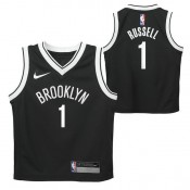 Tienda Brooklyn Nets Nike Icon Replica Camiseta de la NBA - D Angelo Russell - Niño