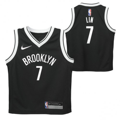 5f913ffff8b07 Brooklyn Nets Nike Icon Replica Camiseta de la NBA - Jeremy Lin - Niño  Outlet Caspe