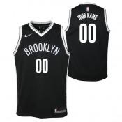 Brooklyn Nets Nike Icon Swingman Camiseta de la NBA - Personalizada - Adolescentes Baratas