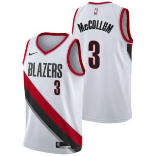 CJ McCollum - Hombre Portland Trail Blazers Nike Association Swingman Camiseta de la NBA Bajo Precio