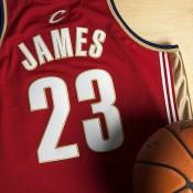 Camiseta auténtica de la 2ª equipación Cleveland Cavaliers Lebron James #23 2003-04 Rookie de Mitchell & Ness Barato