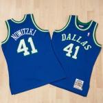 Camiseta de la 2ª equipación Dallas Mavericks Dirk Nowtizki 1998-99 Authentic de Mitchell & Ness en línea