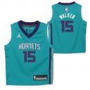 Charlotte Hornets Nike Icon Replica Camiseta de la NBA - Kemba Walker - Niño Barcelona