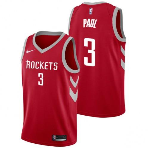 c5cfae9bc Chris Paul  3 - Hombre Houston Rockets Nike Icon Swingman Camiseta de la NBA  Baratas en línea