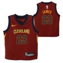 Cleveland Cavaliers Nike Icon Replica Camiseta de la NBA - Lebron James #23 - Niño Venta a Precios Más Bajos
