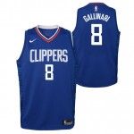 Danilo Gallinari - Adolescentes Los Angeles Clippers Nike Icon Swingman Camiseta de la NBA Ventas Baratas Oviedo