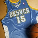 Denver Nuggets Carmelo Anthony #7 2003-04 Road Rookie Authentic Camiseta By Mitchell & Ness Dinero en menos