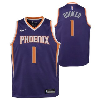 Devin Booker - Adolescentes Phoenix Suns Nike Icon Swingman Camiseta de la NBA Ofertas