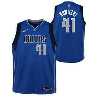 Dirk Nowitzki #41 - Adolescentes Dallas Mavericks Nike Icon Swingman Camiseta de la NBA Ventas Baratas Oviedo