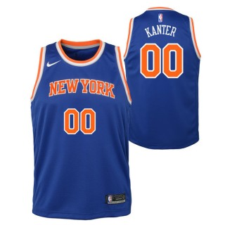 Enes Kanter - Adolescentes New York Knicks Nike Icon Swingman Camiseta de la NBA Codigo Promocional
