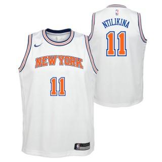 Frank Ntilikina - Adolescentes New York Knicks Nike Statement Swingman Camiseta de la NBA Código De Descuento