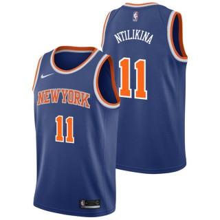 Frank Ntilikina - Hombre New York Knicks Nike Icon Swingman Camiseta Compras En Línea