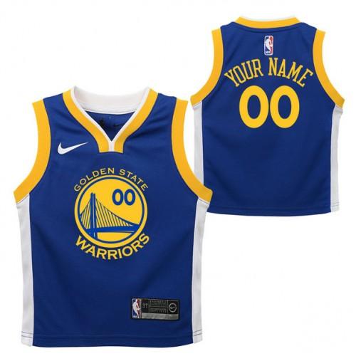 b89a878df Golden State Warriors Nike Icon Replica Camiseta de la NBA - Personalizada  - Niño En Madrid