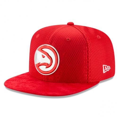 bfe8544218e76 Gorra Atlanta Hawks New Era 2017 Official On-Court 9FIFTY Snapback Cap  Ventas Baratas