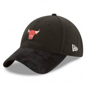 Gorra Chicago Bulls New Era 2017 Official On-Court 9TWENTY Adjustable Cap Venta a Precios Más Bajos