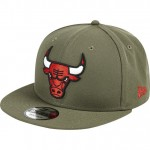 Gorra Chicago Bulls New Era Khaki Stone Team Logo 9FIFTY Snapback Cap Baratas