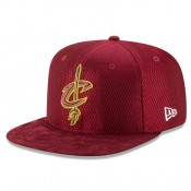 Gorra Cleveland Cavaliers New Era 2017 Official On-Court 9FIFTY Snapback Cap Outlet Leganes