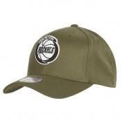 Gorra Houston Rockets Hardwood Classics Olive Team Logo Snapback Cap al Mejor Precio