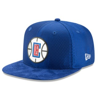 Gorra LA Clippers New Era 2017 Official On-Court 9FIFTY Snapback Cap Outlet Caspe