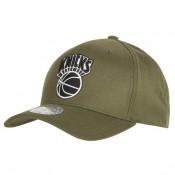 Gorra New York Knicks Hardwood Classics Olive Team Logo Snapback Cap Madrid Tienda