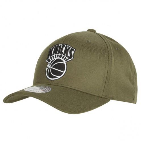 2335ce9567287 Gorra New York Knicks Hardwood Classics Olive Team Logo Snapback Cap Madrid  Tienda