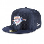 Original Gorra Oklahoma City Thunder New Era 2017 Official On-Court 59FIFTY Fitted Cap