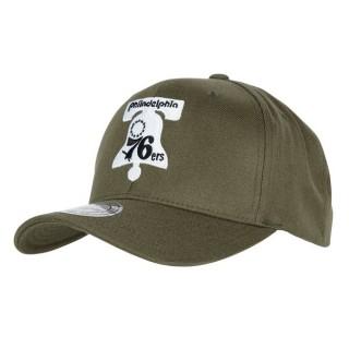 Tienda Gorra Philadelphia 76ers Hardwood Classics Olive Team Logo Snapback Cap